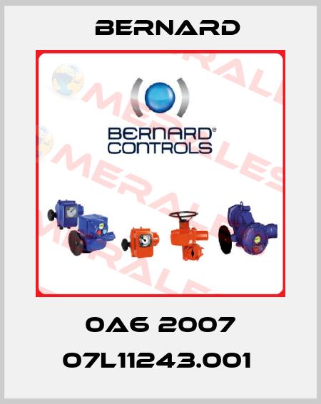 Bernard-0A6 2007 07L11243.001  price