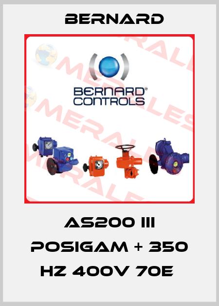 Bernard-AS200 III POSIGAM + 350 HZ 400V 70E  price