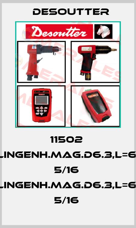 Desoutter-11502  KLINGENH.MAG.D6.3,L=62; 5/16  KLINGENH.MAG.D6.3,L=62; 5/16  price