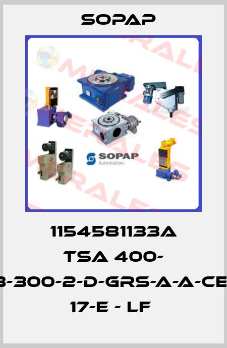 Sopap-1154581133A TSa 400- 8-300-2-D-GRS-A-A-CE- 17-E - LF  price