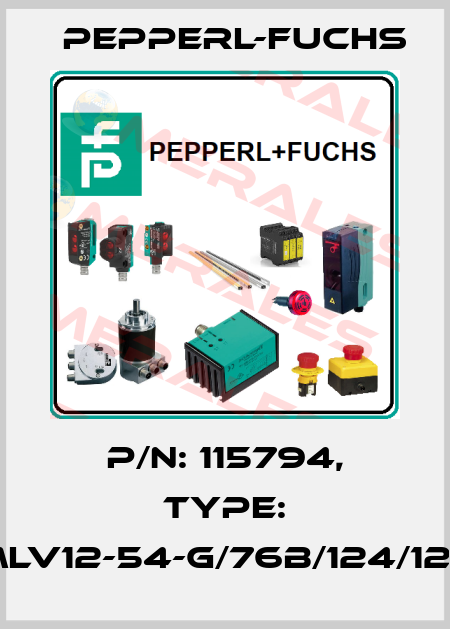 Pepperl-Fuchs-115794 MLV12-54-G/76B/124/128  price