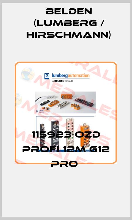 HIRSCHMANN (Belden)-115923 OZD PROFI 12M G12 PRO  price