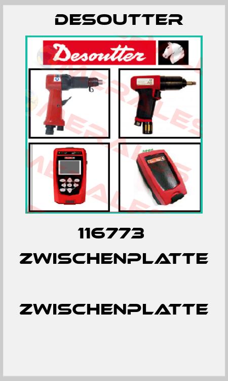 Desoutter-116773  ZWISCHENPLATTE  ZWISCHENPLATTE  price