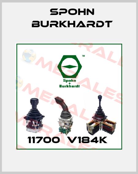 Spohn Burkhardt-11700  V184K  price