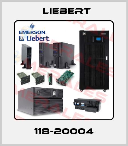 Liebert-118-20004 price