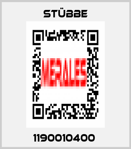 STÜBBE-1190010400  price
