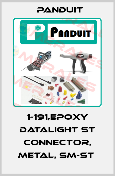Panduit-1-191,EPOXY DATALIGHT ST CONNECTOR, METAL, SM-ST  price