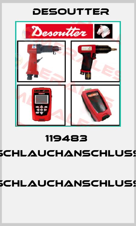 Desoutter-119483  SCHLAUCHANSCHLUSS  SCHLAUCHANSCHLUSS  price