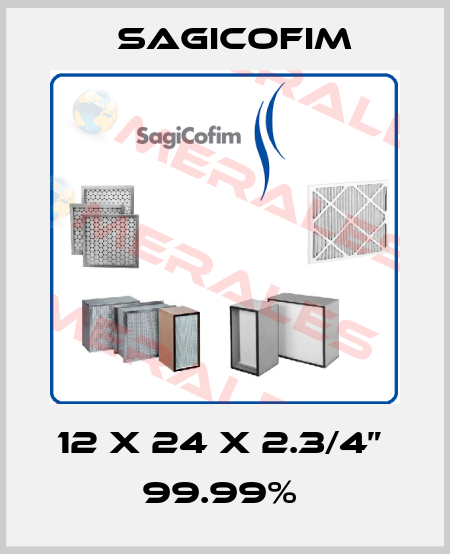 "Sagicofim-12 X 24 X 2.3/4""  99.99%  price"