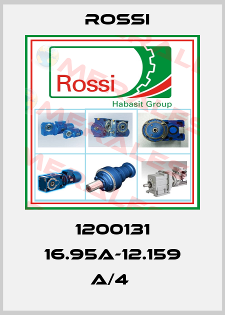 Rossi-1200131 16.95A-12.159 A/4  price