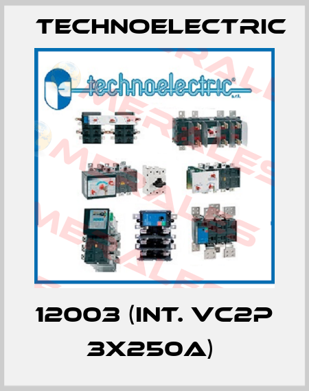 Technoelectric-12003 (INT. VC2P 3X250A)  price