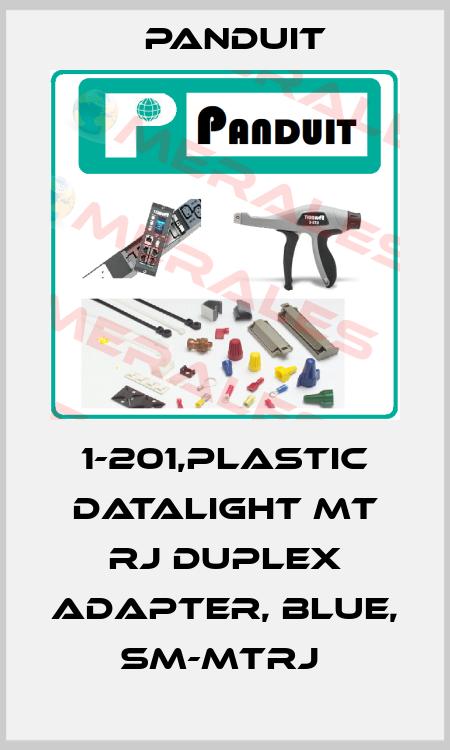 Panduit-1-201,PLASTIC DATALIGHT MT RJ DUPLEX ADAPTER, BLUE, SM-MTRJ  price