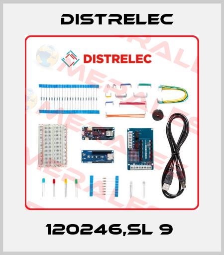 Distrelec-120246,SL 9  price