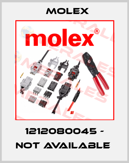 Molex-1212080045 - not available  price