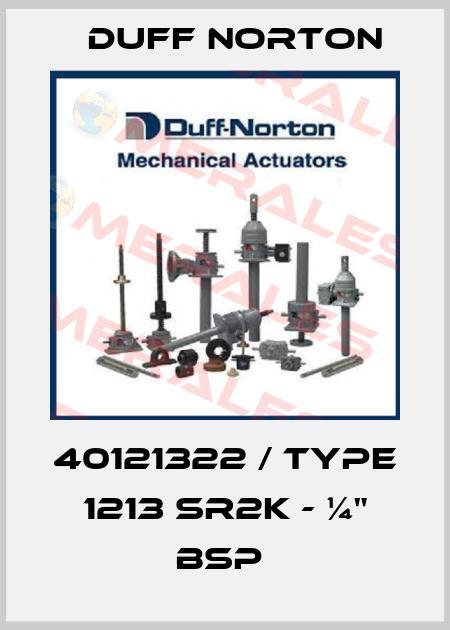 """Duff Norton-40121322 / Type 1213 SR2K - ¼"""" BSP  price"""