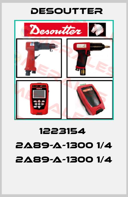 Desoutter-1223154  2A89-A-1300 1/4  2A89-A-1300 1/4  price