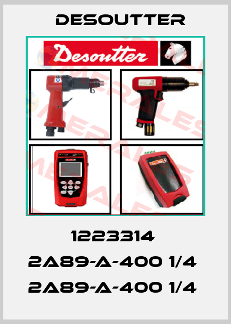 Desoutter-1223314  2A89-A-400 1/4  2A89-A-400 1/4  price