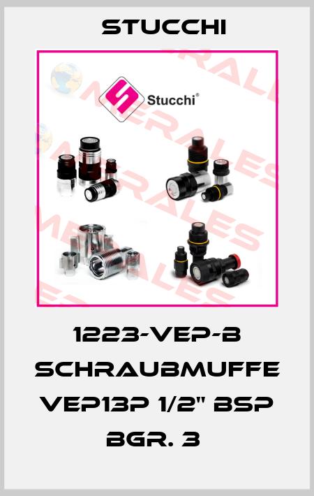 "Stucchi-1223-VEP-B SCHRAUBMUFFE VEP13P 1/2"" BSP BGR. 3  price"