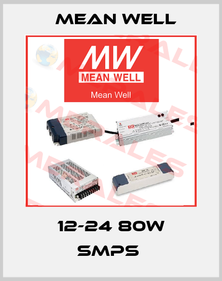 Mean Well-12-24 80W SMPS  price