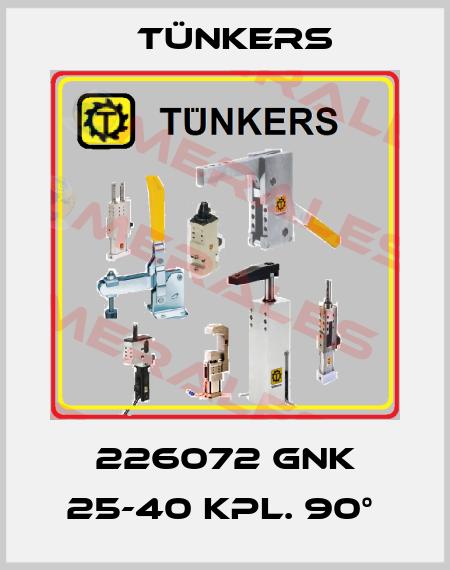 Tünkers-226072 GNK 25-40 KPL. 90°  price